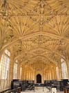Photograph of Divinity School at Oxford