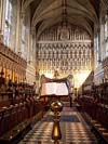 Photograph from Magdalen College Chapel at  Oxford