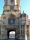 Photograph Tom tower Christ Church  Oxford