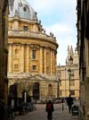 Photograph  Catte Street and Radcliffe Square  at  Oxford