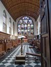 Wadham  College chapel Oxford