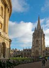 Radcliffe Square  at  Oxford