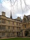Exeter College at  Oxford