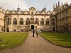 Photograph Oriel College  Oxford