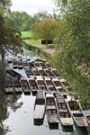 Photograph Punts on the river cherwell  Oxford